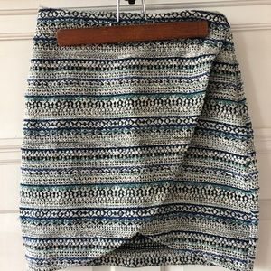 Anthropologie Matison Stone Wrap Skirt